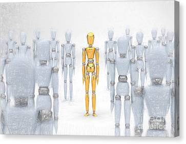 Individuality Canvas Print by Carsten Reisinger