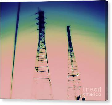 Industrial Canvas Print by A K Dayton