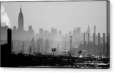 Industrial And Corporate Canvas Print by James Aiken