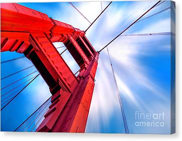 Industrial Boom Canvas Print by Az Jackson