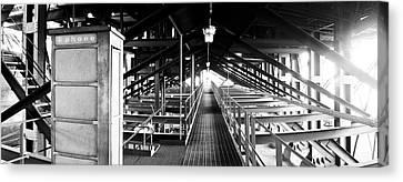 Industrial Tardis Canvas Print