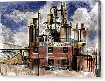 Industrial Work Canvas Print by Davina Washington