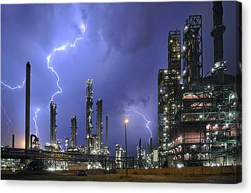 Lightning Canvas Print by Arterra Picture Library