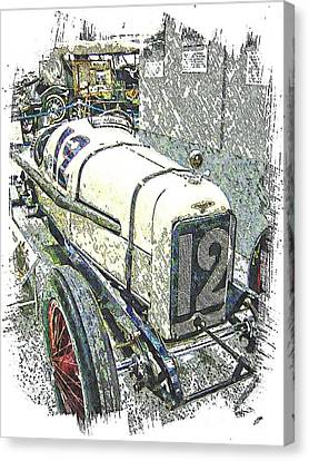 Indy Race Car 2 Canvas Print by Spencer McKain