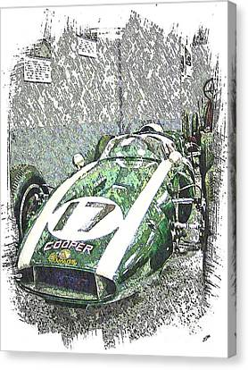 Indy Race Car 5 Canvas Print by Spencer McKain