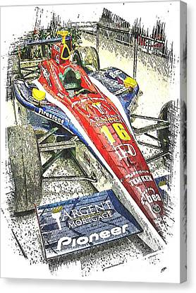 Indy Race Car 7 Canvas Print by Spencer McKain
