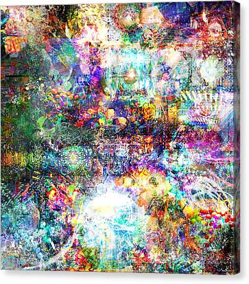 Infinite Bit 28 Canvas Print by Jerry Cannon