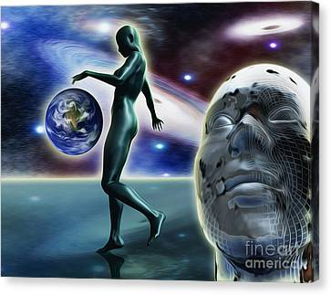 Infinity Vision Canvas Print by Stefano Senise