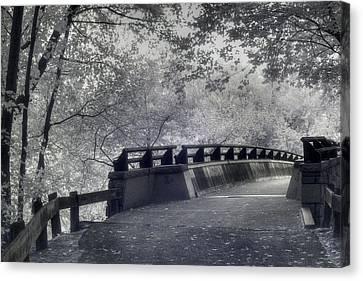 Infrared Bridge Canvas Print by Joann Vitali
