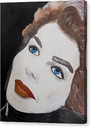 Ingrid From Casa Blanca Canvas Print