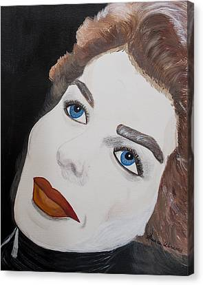 Ingrid From Casa Blanca Canvas Print by Susan Abrams