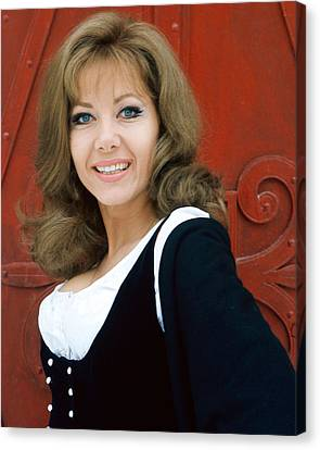 Ingrid Pitt In Where Eagles Dare  Canvas Print by Silver Screen