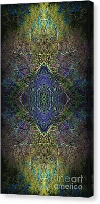 Ingwaz Canvas Print by Tim Gainey
