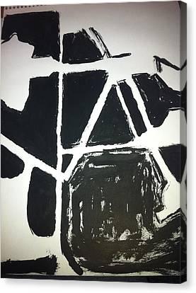 Ink Drawing Canvas Print by Khoa Luu