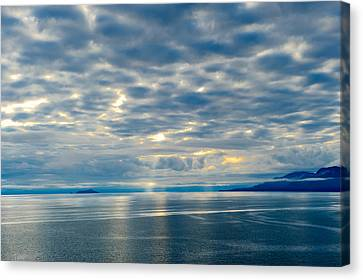Inland Passage In Alaska Canvas Print