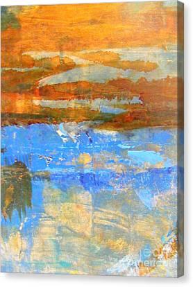 Inland Sea Canvas Print by Nancy Kane Chapman