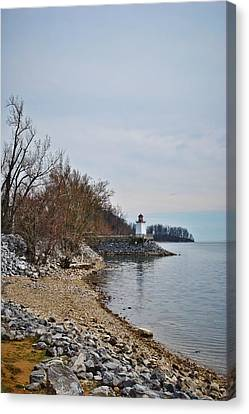 Inlet Lighthouse Canvas Print