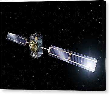 Inmarsat Communication Satellite Canvas Print by Esa-p.carril