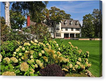 Inn At Stonecliffe On Mackinac Island Canvas Print