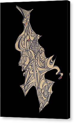Inner Dimensional  Canvas Print by Night Maher