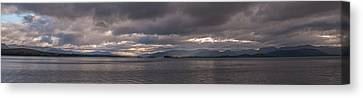 Canvas Print featuring the photograph Inner Hebrides by Sergey Simanovsky
