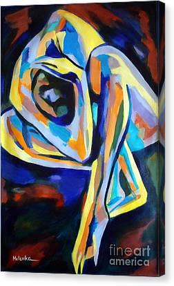 Inner Reality Canvas Print by Helena Wierzbicki