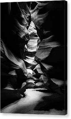 Cavern Canvas Print - Inner Sanctum - Antelope Canyon - Arizona by Gregory Ballos
