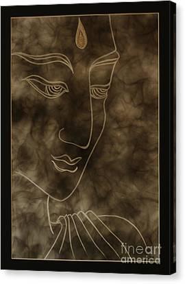Inner Self Peace Canvas Print by Aixa Rios