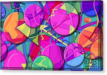 Inner Space Canvas Print by Gerry Robins