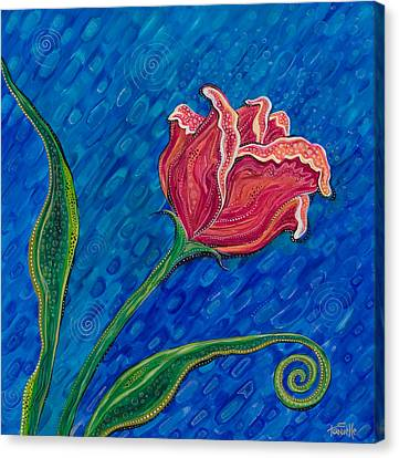 Inner Strength Canvas Print by Tanielle Childers