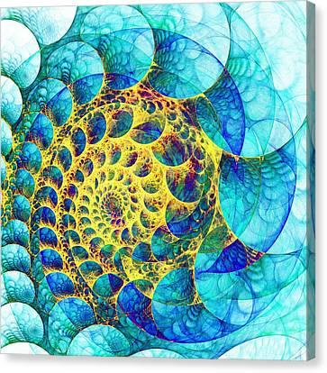 Inner Structure Canvas Print by Anastasiya Malakhova