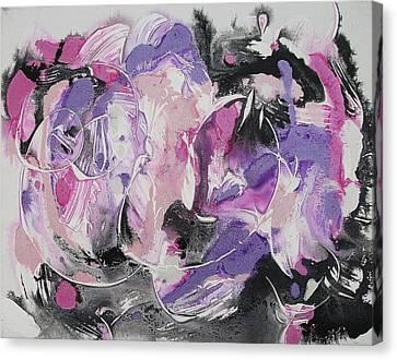 Inner Turmoil Canvas Print by Suzanne  Marie Leclair