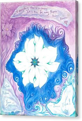 Inner Voice Canvas Print by Lydia Erickson