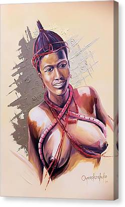 Canvas Print - Innocence  by Oyoroko Ken ochuko