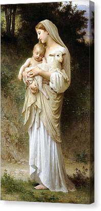 Innocence Canvas Print by William Bouguereau