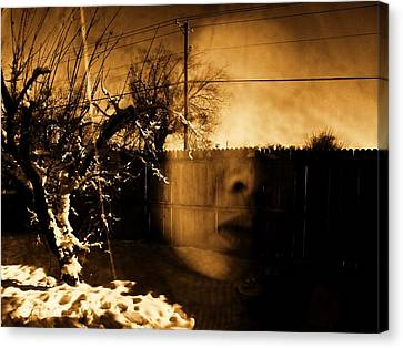 Canvas Print featuring the photograph Innocents Reflection  by Jessica Shelton