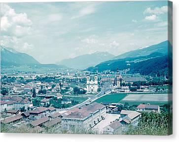 Innsbruck Austria 4 1962 Canvas Print by Cumberland Warden