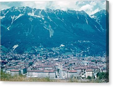 Innsbruck Austria 6 1962 Canvas Print by Cumberland Warden
