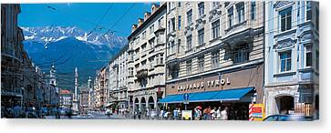Innsbruck Tirol Austria Canvas Print by Panoramic Images