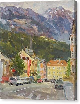 Innsbruck Canvas Print by Victoria Kharchenko