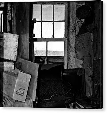 Inside Abandonment 2 Canvas Print
