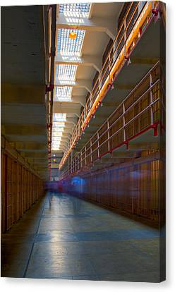 Alcatraz Canvas Print - Inside Alcatraz by James O Thompson