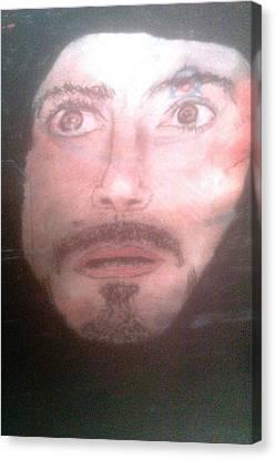 Inside Ironman Canvas Print by Corey Hopper