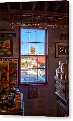 Inside Looking Out Canvas Print by Thomas Sellberg