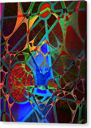Inside Out Canvas Print by Ally  White