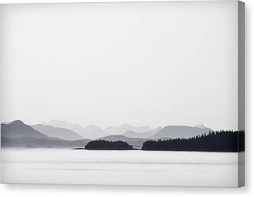 Inside Passage Alaska Canvas Print by Carol Leigh