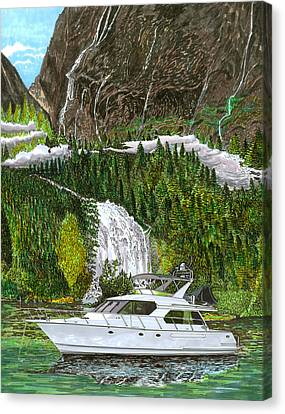 Inside Passage Time Out Canvas Print by Jack Pumphrey