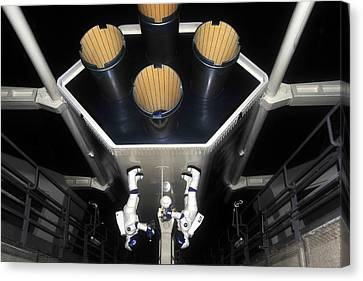Inside Space Mountain Canvas Print by David Lee Thompson