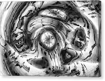 Inside The Bean Canvas Print