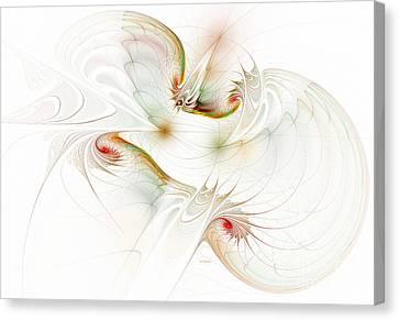 Inside The Brain Canvas Print by Deborah Benoit